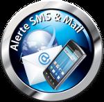 Alerte SMS & Mail
